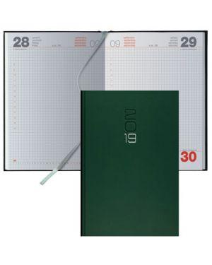 Genda 14,5x20,5 classica s/d gommato verde quadretti 64200404 64200404