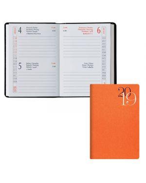 Agenda tasc.6,5x10 2 gg classica jeans arancio 49100317 BALDO 49100317 2000001855706 49100317