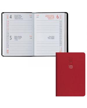 Agenda tasc.6,5x10 2 gg classica gommato rosso 0491 004 03 BALDO 49100403 2000001847213 49100403