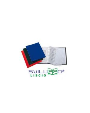 Portalistini sviluppo liscio 22x30cm in naturene 30 buste blu favorit 400035509_71916