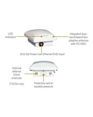 Zoneflex t300  omni  outdoor ap Ruckus Wireless 901-T300-WW01  901-T300-WW01
