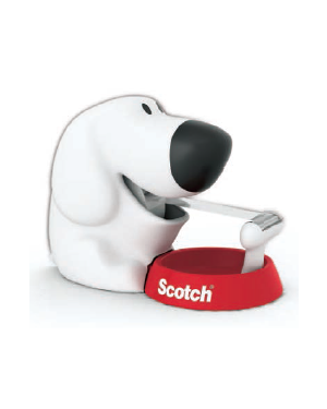 Dispenser fido c31 + 1 rotolo scotch magic 810 19mmx7,5m 69624_71952 by Scotch