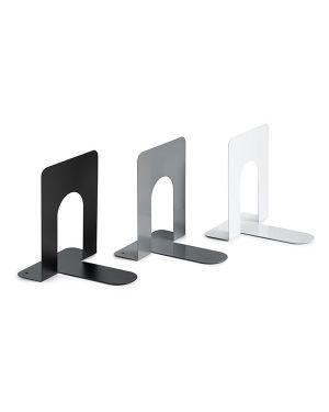 Coppia reggilibri bianco in metallo art.7250 7250B 8028422572501 7250B_72050 by Esselte