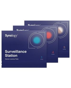 Camera license pack 4 Synology LICENSE-PACK-4 846504000296 LICENSE-PACK-4