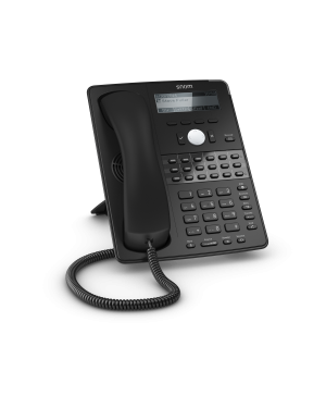 TELEFONO SNOM D725 W/O PS BLACK 3916