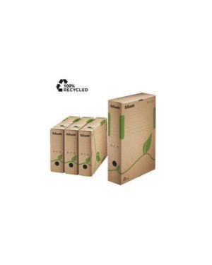 Scatola archivio ecobox dorso 100mm 327x233mm esselte CONFEZIONE DA 25 623917_72337