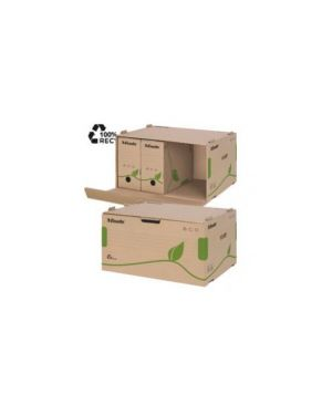 Scatola container ecobox 340x439x259mm apertura laterale esselte CONFEZIONE DA 10 623919_72338