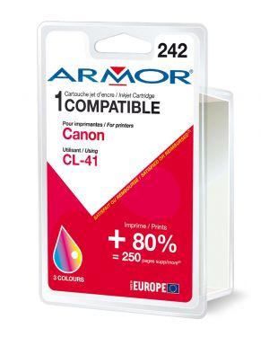 Cartuccia colori per canon pixma ip1200, ip1300, ip1700, ip2200, ip2500 B20220R1 3112539223748 B20220R1_ARMCL41 by Armor