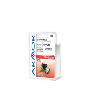 Cartuccia nera per canon pixma ip4850, mg5150, mg5250, mg6150, mg815 B12560R1_ARMPGI525BK