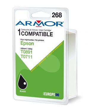 Cartuccia nera per epsonstylus d78, d92, s20, bx300, sx100 serie B12314R1 3112539223915 B12314R1_ARMT0711 by Armor