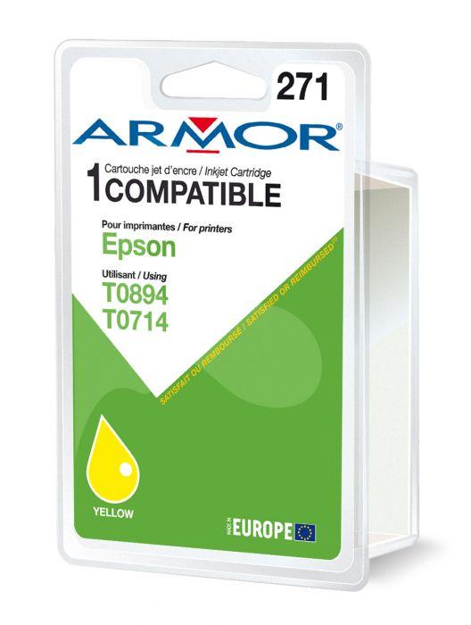 Cartuccia giallo per epsonstylus d78, d92, s20, bx300, sx100 serie B12317R1 3112539223946 B12317R1_ARMT0714 by Armor
