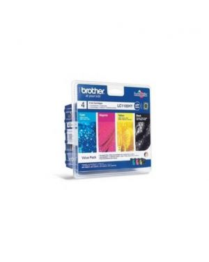 Value pack nero ciano magenta giallo mfc-6490cw blister alta capacita' LC1100HYVALBP_BROLC1100HVP by Brother