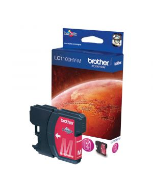 Cartuccia magenta mfc-6490cw alta capacita&#39 LC-1100HYM 4977766659871 LC-1100HYM_BROLC1100HYM by Brother