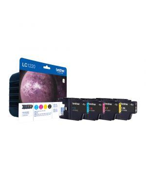 Value pack cartuccia bk - c - m - y dcp-j525w 925dw mfc j430w j625dw j825dw LC-1220VALBP 5014047562938 LC-1220VALBP_BROLC1220VP by Esselte