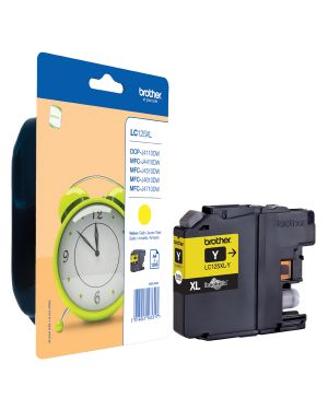 Cartuccia giallo mfc-j4410dw mfc-j4510dw alta capacita&#39 LC-125XLY 4977766713962 LC-125XLY_BROLC125XLY by Brother