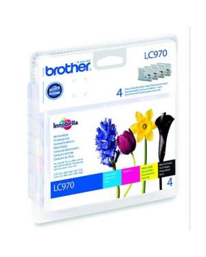 Value pack nero ciano magenta giallo dcp150c dcp135c mfc235c mfc260c blister LC970VALBP_BROLC970VP by Brother - Consumables Ink