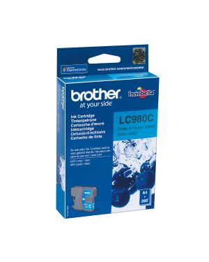 Cartuccia ciano dcp-145c LC-980C 4977766659598 LC-980C_BROLC980C by Brother