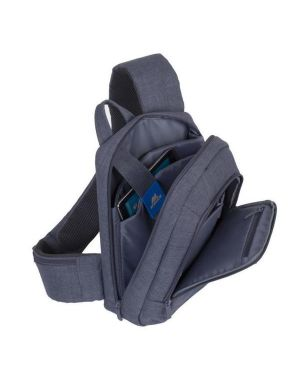 7529 grey laptop sling 13.3 Rivacase 7529GY 4260403570920 7529GY