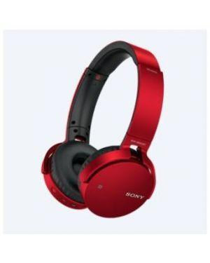 Mdr-xb650b cuffie bluetooth rosso Sony MDRXB650BTR.CE7 4548736021570 MDRXB650BTR.CE7