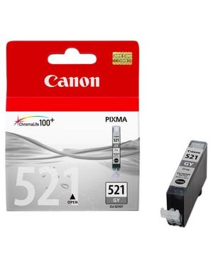 Cartuccia grigia cli-521gy 2937B001 4960999577555 2937B001_CANINKCLI521GY by Canon - Supplies Ink Hv