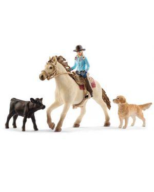 Set schleich equitazione american 2542419 by No