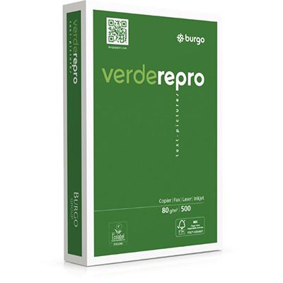 Carta fotocopie repro verde gr.80 a3 fg.5 8163 by No