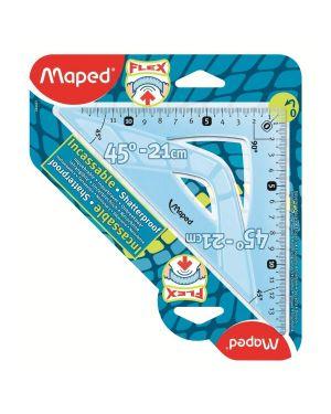 Squadra cm 21  45°  infrangib Maped 244421 3154142444219 244421