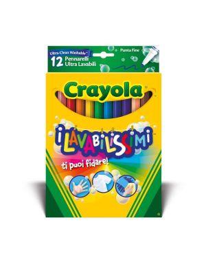 Lavabilissimi - pen.lli puntaf Crayola 58-8331 71662083311 58-8331