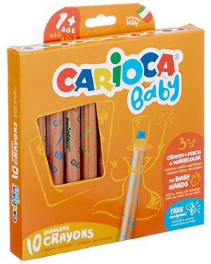 Conf10 baby pastello 3 in 1 ass Carioca 42818A 8003511428181 42818A