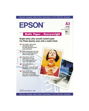 Carta speciale opaca a3 50 EPSON - CONSUMER MEDIA C13S041261 10343818484 C13S041261_EPSS041261 by Esselte