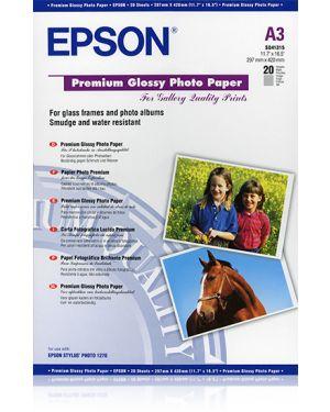 Carta fotografica lucida a3 20 EPSON - CONSUMER MEDIA C13S041315 10343819788 C13S041315_EPSS041315