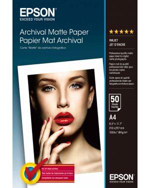 Carta opaca matte a4 50 fogli EPSON - CONSUMER MEDIA C13S041342 10343830073 C13S041342_EPSS041342 by No