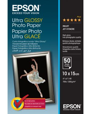 Carta ultra glossy photo 10x15 EPSON - CONSUMER MEDIA C13S041943 10343855540 C13S041943_EPSS041943