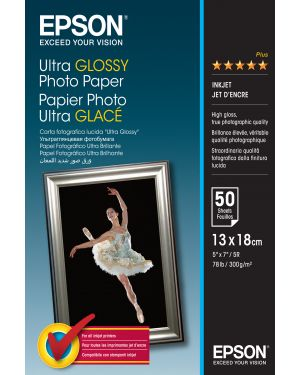 Carta foto ultra glossy 13x18 EPSON - CONSUMER MEDIA C13S041944 10343855557 C13S041944_EPSS041944 by Esselte