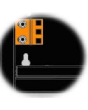 Kit staffe 1u nero per dvr - nvr ITRACK 309154  309154