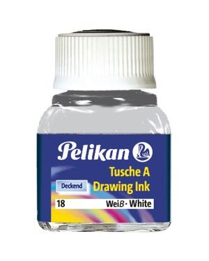 Inchiostro china523-18 bianco Pelikan 201673 4012700207272 201673