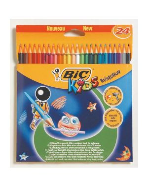 Stuccio 24 matite kids evolution bic 937515