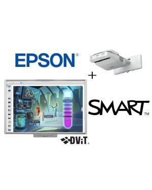 Sbm685v 88 + epson eb675w +staffa Smart Board SBM685V-EB675W  SBM685V-EB675W
