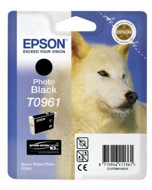 Cartuccia inchiostro a pigmenti nero-foto epson ultrachrome k3 blister rs C13T09614010 8715946411361 C13T09614010_EPST09614010