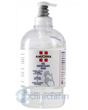 gel mani igienizzante 500ml Sanitec DMP035 18050444494698 DMP035