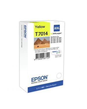 Tanica inchiostro a pigmenti giallo epson durabrite ultra, xxl C13T70144010 8715946487120 C13T70144010_EPST70144010