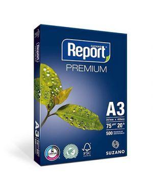 Carta fotocopie report premium a3 gr.75 fg.500 REPORT PREMIUM 21034035 7891191003726 21034035