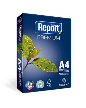 Carta fotocopie report premium a4 gr.75 fg.500 21034041 by No