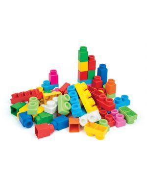Costruzioni clemmy sacca 60 pezzi 14881