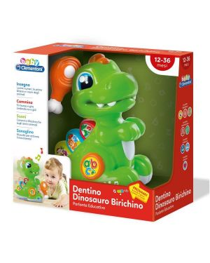 Dentino dinosauro birichino Clementoni 17236 8005125172368 17236