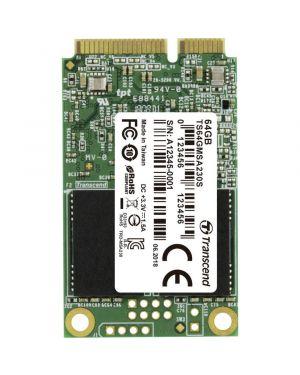 Ssd 230s msata 6gb - s 64gb TRANSCEND - SSD TS64GMSA230S 760557842576 TS64GMSA230S by No