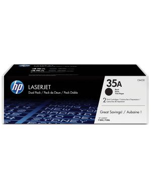 Toner nero 35a dual pack HP - HPS SUPP LASERJET SUPP (GP) CB435AD 884962022351 CB435AD_HPCB435AD