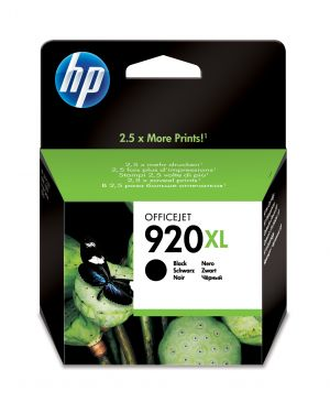 Cartuccia a getto d'inchiostro officejet hp n.920xl nero CD975AE 884420649496 CD975AE_HPCD975AE