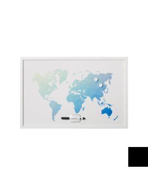 Lavagna mappa mondo magnet. 60x4 MM03450660