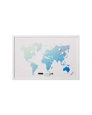 Lavagna mappa mondo magnet. 60x40 Bi-Office MM03450660 5603750058373 MM03450660